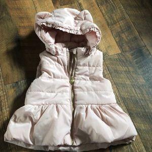 H&M mauve girls vest